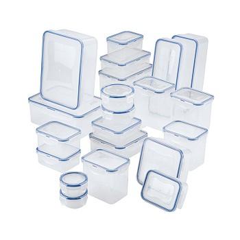 Lock n Lock Easy Essentials 42 Piece Food Storage Container Set