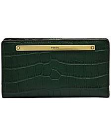 Liza Leather Slim Bifold Wallet
