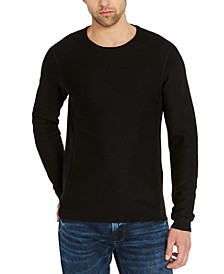 Men's Popcorn Textured Sweater