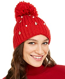 Charms Beanie, Created For Macy's