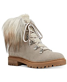 Alex Faux-Fur Booties