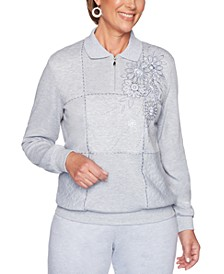 All About Ease Embellished Sweatshirt
