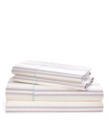 Ralph Lauren Claudia Stripe California King Sheet Set
