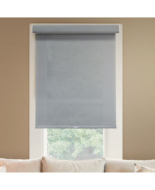 """Chicology Cordless Roller Shades, No Tug Privacy Window Blind, 56"""" W x 72"""" H"""