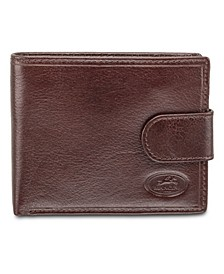 Equestrian2 Collection RFID Secure Wallet with Coin Pocket and Card Sleeves