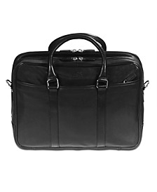 "Colombian Collection Zippered Double Compartment 15.6"" Laptop / Tablet Briefcase"