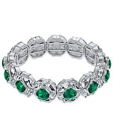 Crystal & Stone Stretch Bracelet, Created For Macy's