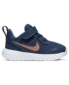 Nike Toddler Boys Revolution 5 Stay-Put Closure Running Sneakers from Finish Line