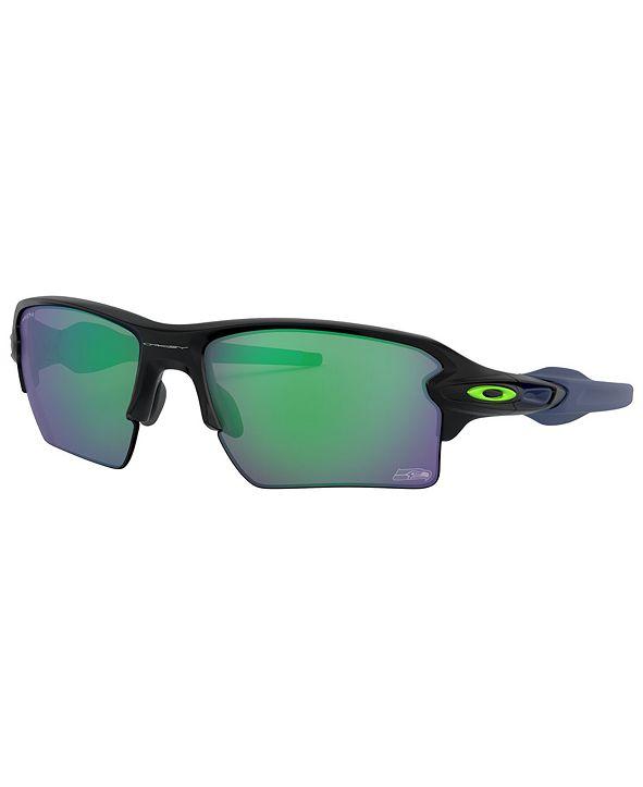 Oakley NFL Collection Sunglasses, Seattle Seahawks OO9188 59 FLAK 2.0 XL