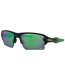 NFL Collection Sunglasses, Green Bay Packers OO9188 59 FLAK 2.0 XL