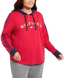 Plus Size Logo Hoodie