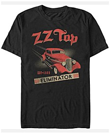 ZZ Top Men's Eliminator Hot Rod Short Sleeve T-Shirt