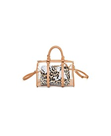 Like Dreams Clear Handle Handbag