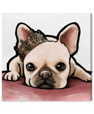 Royal Frenchie Canvas Art, 12
