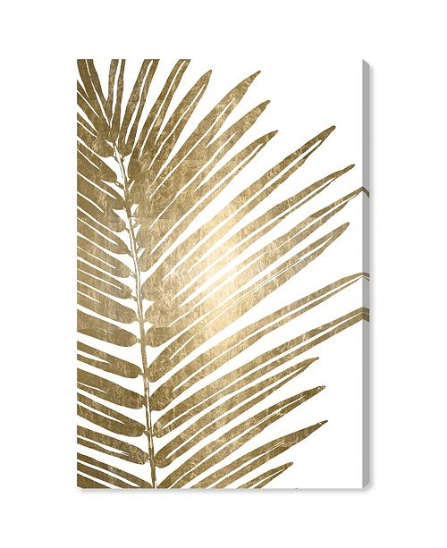 """Oliver Gal Cal Leaves Canvas Art, 16"""" x 24"""""""