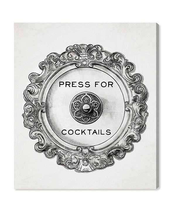 "Oliver Gal Press for Cocktails Canvas Art, 20"" x 24"""