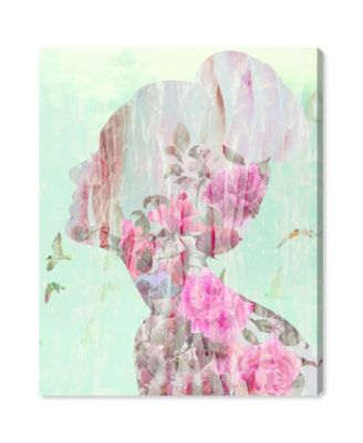 Birds in Her Head Canvas Art, 30