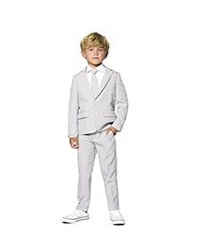 Little Boys Groovy Solid Suit