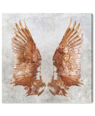 Rose Gold Wings Canvas Art, 24