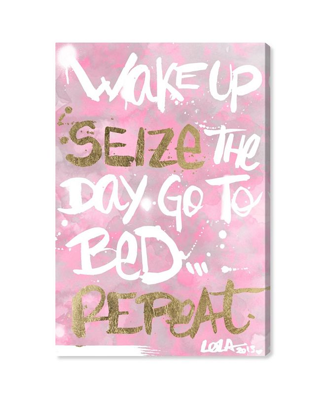 """Oliver Gal Seize The Day Rose Canvas Art, 16"""" x 24"""""""