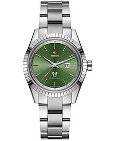 Women's Swiss Automatic Tradition Stainless Steel Bracelet Watch 35mm