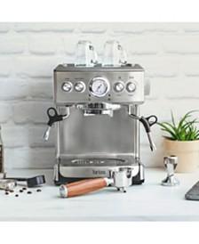 19 Bar Espresso Maker with Wood Finish Handle