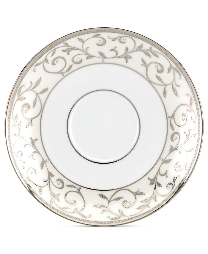 Lenox - Opal Innocence Silver Saucer