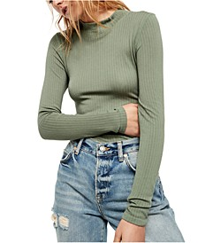 Lindsey Mock-Neck Top