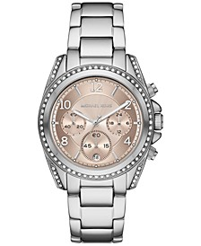 Women's Chronograph Blair Stainless Steel Bracelet Watch 39mm
