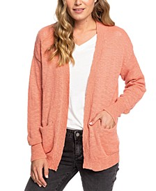 Juniors' Valley Shades Open-Front Cardigan