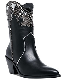 Women's Howdy Western Booties