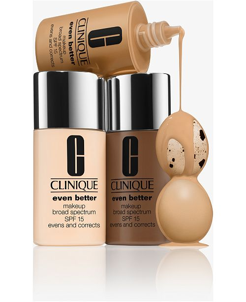 Clinique Receive $10 off any Clinique Foundation Purchase!