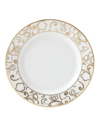 Venetian Lace Gold Butter Plate