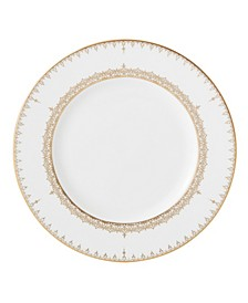 Lace Couture Gold  Accent Plate