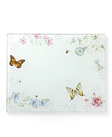 Butterfly Meadow Kitchen Large Glass Food Board, Created for Macy's