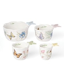 Lenox Butterfly Meadow Kitchen Set/4 Measuring Cups, Created for Macy's