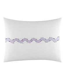 Ghost Flower Center Scallop Breakfast Pillow