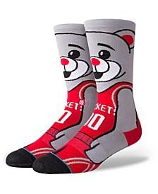 Houston Rockets  Mascot Crew Socks