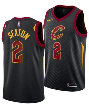 Nike Men's Collin Sexton Cleveland Cavaliers Statement Swingman Jersey