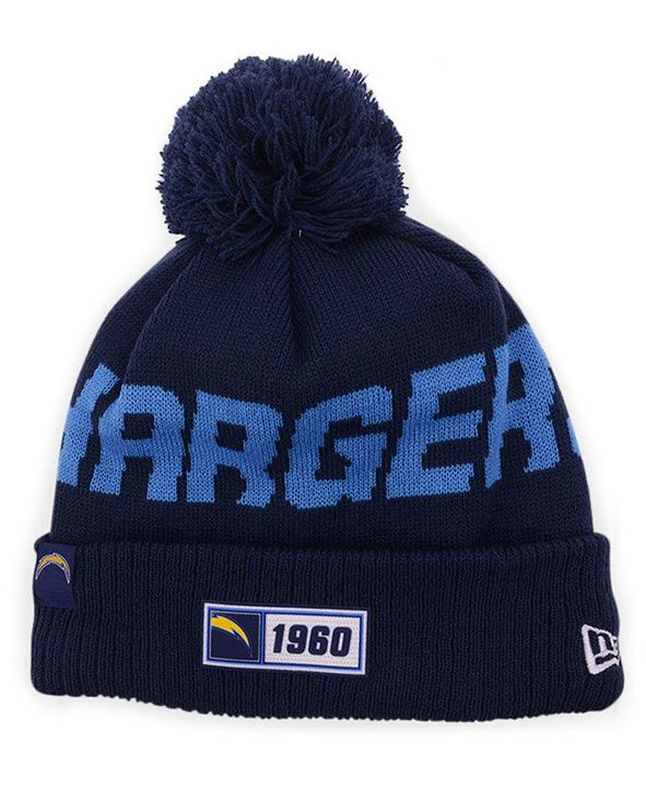 New Era Los Angeles Chargers Road Sport Knit Hat