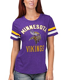 Women's Minnesota Vikings Extra Point T-Shirt