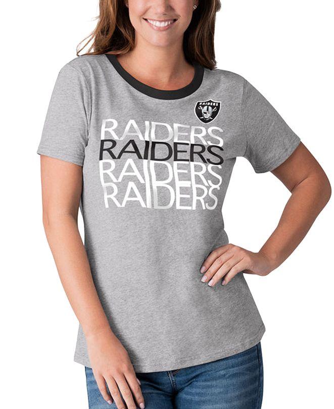 G-III Sports Women's Oakland Raiders Undefeated T-Shirt