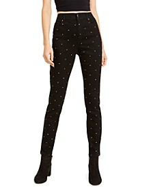 Studded Skinny Ankle Pants, Created For Macy's