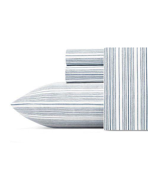 Nautica Beaux Stripe Full Sheet Set
