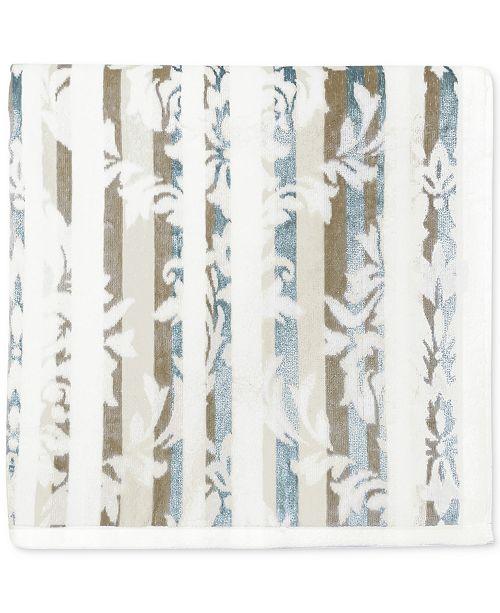 """CHF CLOSEOUT! Damask Stripe Cotton 30"""" x 54"""" Bath Towel"""