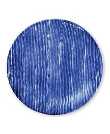 Vietri Santorini Stripe Dinner Plate