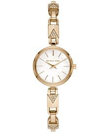 Women's Petite Jaryn Gold-Tone Stainless Steel Mercer Lock Bracelet Watch 24mm