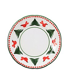 Uccello Rosso Dinner Plate