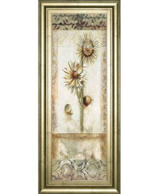 "Fiorindo Vita I by Douglas Framed Print Wall Art, 18"" x 42"""