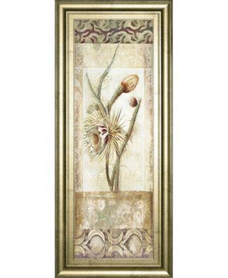 "Fiorindo Vita II by Douglas Framed Print Wall Art, 18"" x 42"""